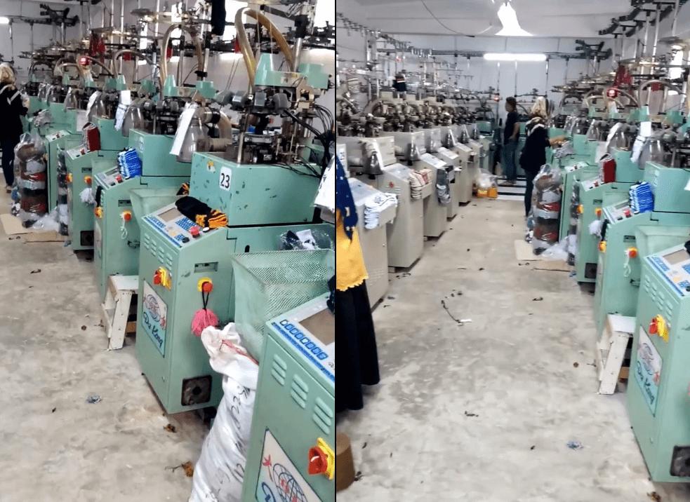 Pabrik kaos kaki di Bandung